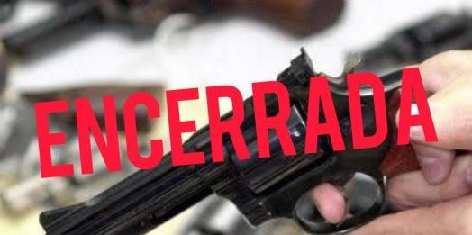 Pesquisa encerrada: Você é a favor ou contra o porte e posse de arma de fogo?