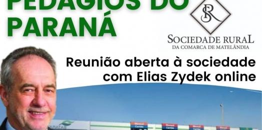 Pedágios no Paraná: Executivo da Frimesa, Elias Zydek debate com a sociedade sobre o tema