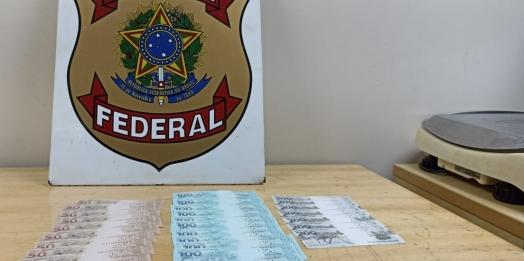 PF prende homem com R$ 3 mil em cédulas falsas recebidas pelos Correios em Foz do Iguaçu