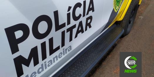 PM cumpre mandado de prisão em Medianeira