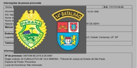 PM cumpre mandado de prisão pelo crime de receptação em Itaipulândia