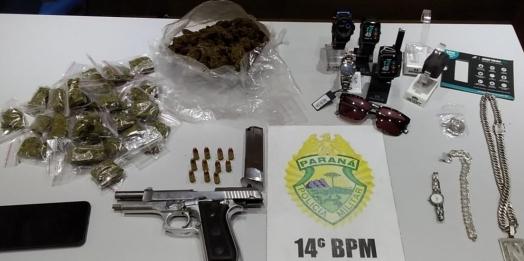 Polícia Militar de Itaipulândia e Medianeira prende assaltantes de relojoaria em Itaipulândia