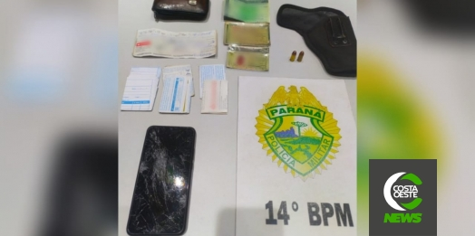 PM prende suspeitos de roubo registrado em Santa Terezinha e recupera pertences da vítima