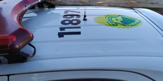 Polícia Militar aborda menor embriagado conduzindo veículo em Missal