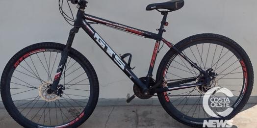 Polícia Militar de Medianeira procura dono de bicicleta recuperada