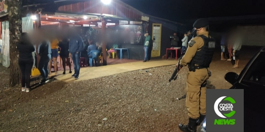 Polícia Militar e Vigilância Sanitária realizam fiscalização em Medianeira