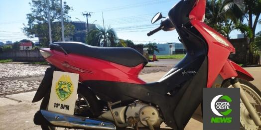 Polícia Militar prende dois indivíduos e recupera motocicleta em Medianeira