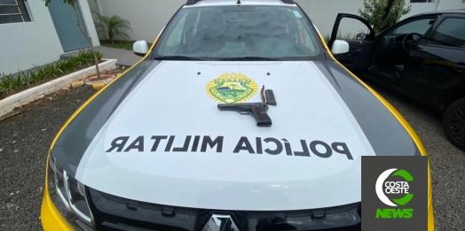 Polícia Militar prende homem por porte ilegal de arma de fogo em São Miguel do Iguaçu