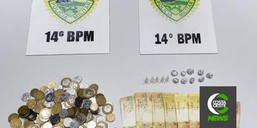 Polícia Militar prende homem por tráfico de drogas em Medianeira