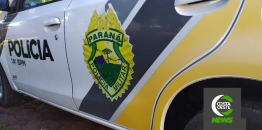 Polícia Militar prende indivíduo por agredir os pais em Medianeira