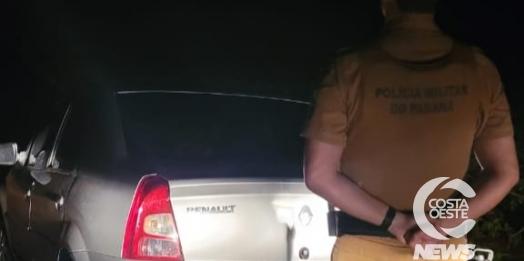 Polícia Militar recupera em Missal veiculo roubado em São Miguel do Iguaçu