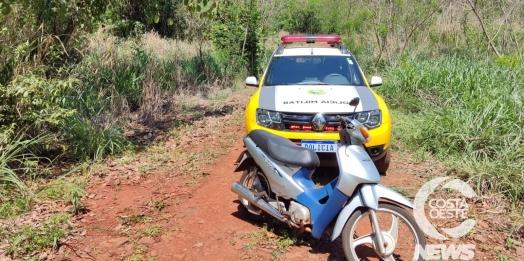 Polícia Militar recupera motocicleta logo após furto em São Miguel do Iguaçu