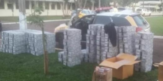 Policiais Militares flagrados com contrabando em Santa Terezinha perdem cargos