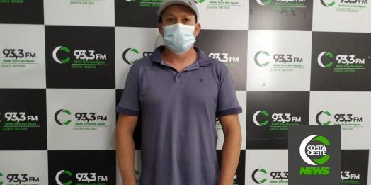 Prefeito de São José das Palmeiras é internado após complicações da Covid-19