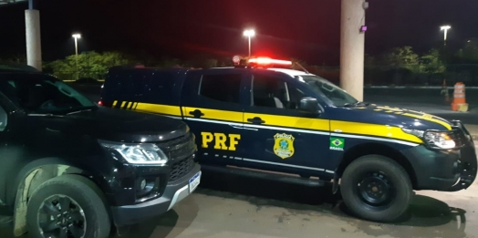 PRF recupera em Guaíra caminhonete furtada em Cascavel, antes mesmo de os proprietários perceberem