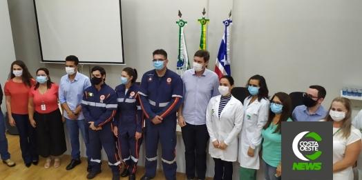 Profissionais de saúde são os primeiros vacinados contra Covid-19 em Medianeira