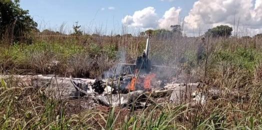 Acidente aéreo mata piloto, presidente e quatro jogadores do Palmas-TO