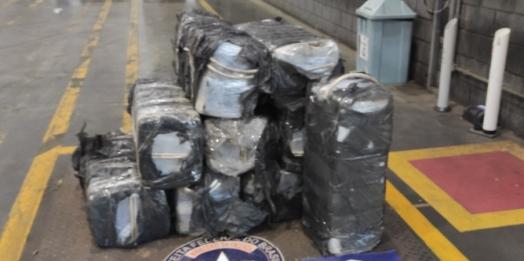Receita Federal apreende 339 kg de cocaína no Porto de Paranaguá