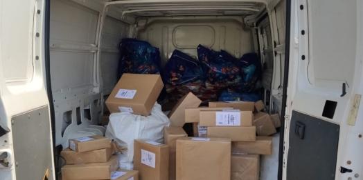 Receita Federal retém cerca de 100 volumes com mercadorias irregulares em caminhões de e-commerce