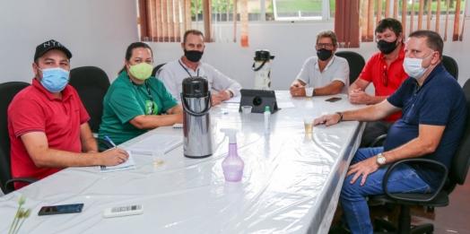 Representantes da Itaipu Binacional se reúnem com prefeito e vice de Missal