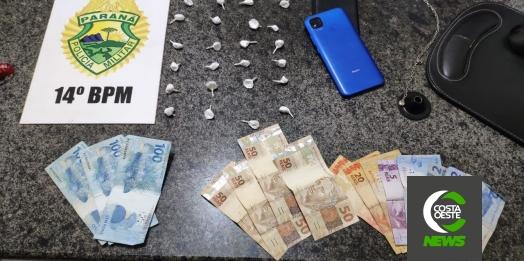 ROTAM prende duas pessoas por tráfico de drogas em São Miguel do Iguaçu