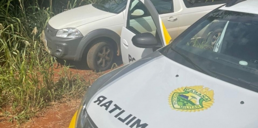 RPA de Medianeira recupera veículo roubado em São Miguel do Iguaçu