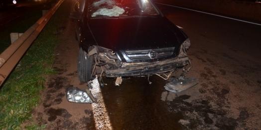 São Miguel do Iguaçu: Acidente na BR 277 em frente a Igreja Matriz é registrado na noite de ontem