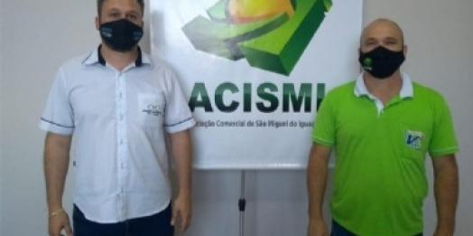 São Miguel do Iguaçu: Jolmir Raimundi é reeleito presidente da ACISMI