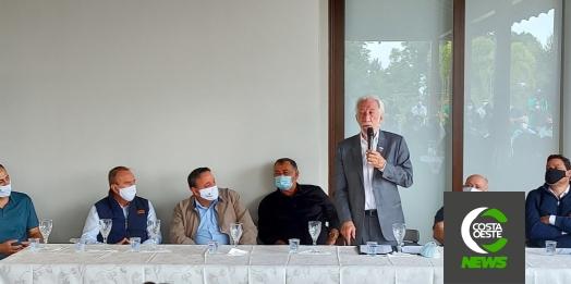 São Miguel do Iguaçu recebe visita do governador em exercício, Darci Piana
