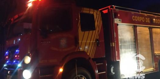 Suposto incêndio ocasionado por cigarreiros mobiliza Bombeiros em Santa Helena