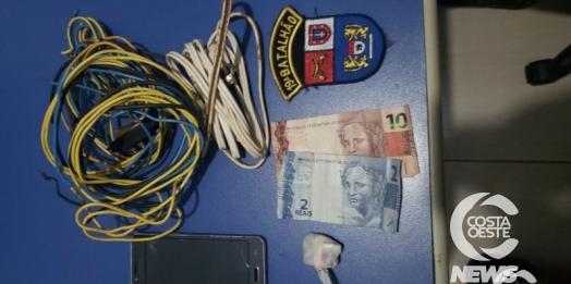 Suspeitos de furtar lavacar em Santa Helena são presos pela Polícia Militar