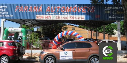 Teve início o Mega Feirão de semi-novos e Test Drive da Paraná Automóveis; visite a loja