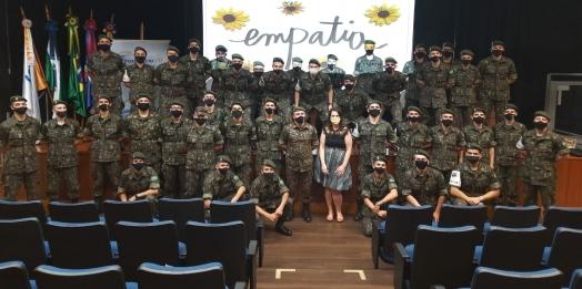 Tiro de Guerra de Medianeira realiza palestra sobre o Setembro Amarelo