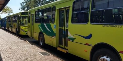 Transporte Coletivo de Foz circula apenas no horário de pico nesta segunda (19)