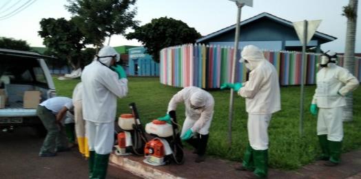 UBV costal é iniciado em Serranópolis do Iguaçu