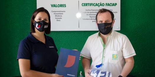 UNIGUAÇU reafirma parceria com a Associação Comercial Empresarial de Santa Terezinha de Itaipu