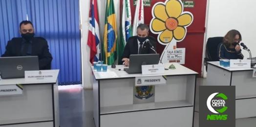 Vereadores de Medianeira fazem sessão recheada de requerimentos indicações