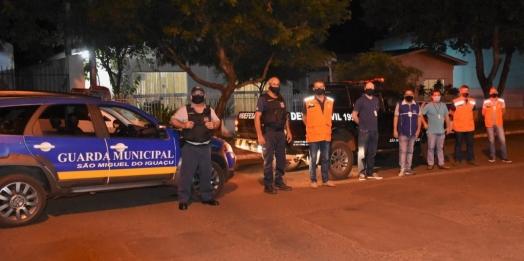 Vigilância Sanitária e forças de segurança intensificam fiscalização em São Miguel do Iguaçu