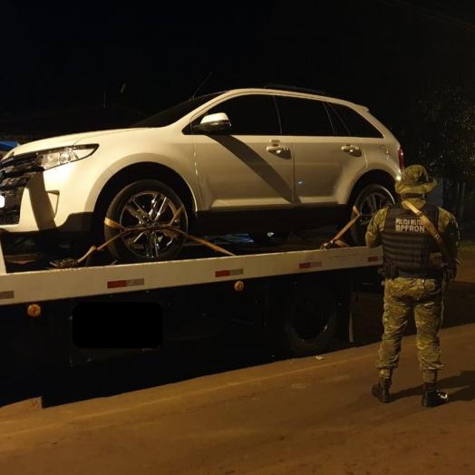 BPFRON recupera em São Miguel do Iguaçu veículo furtado em Pato Branco