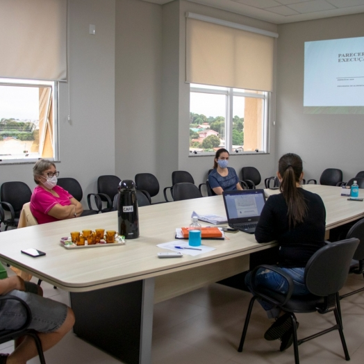 Conselho de Alimentação Escolar de Medianeira se reúne para prestar contas dos exercícios 2019 e 2020