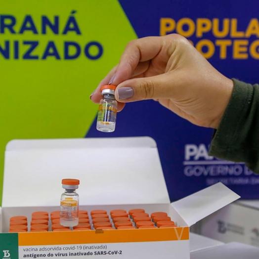 Covid-19: População geral com 59 anos será imunizada, em Guaíra, a partir deste sábado (12)