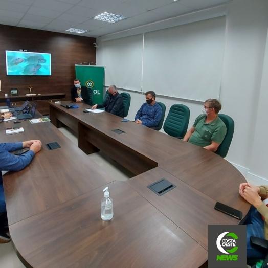 Cresol Costa Oeste busca parcerias para fomentar a atividade de piscicultura em São Miguel e região