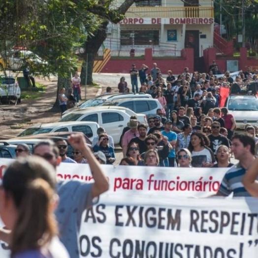 Educadores aprovam greve e não retomarão aulas on-line ou presenciais em fevereiro