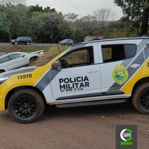 Estelionatário é preso pela Polícia Militar após intensa perseguição na BR-277