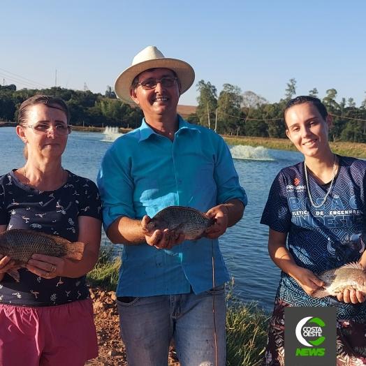 Família descobre piscicultura como grande fonte de renda