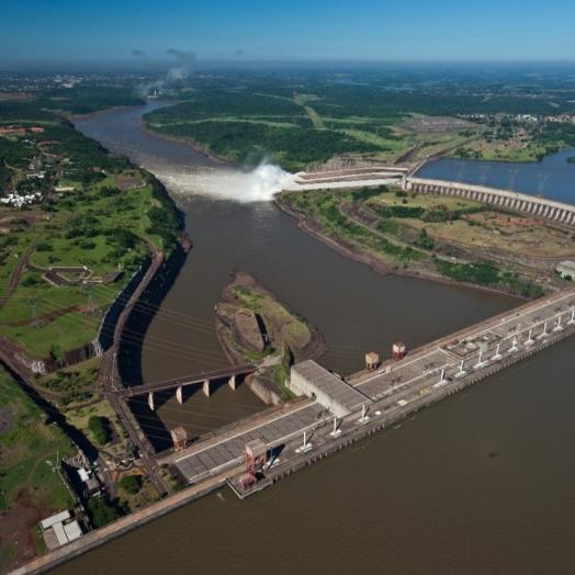 Itaipu atinge 2,8 bilhões de MWh nesta quinta-feira (8)