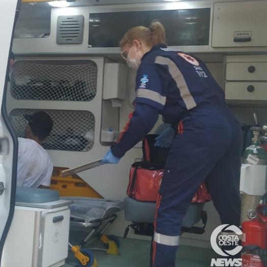 Jovem é encontrado desmaiado no Balneário de Santa Helena e SAMU é acionado