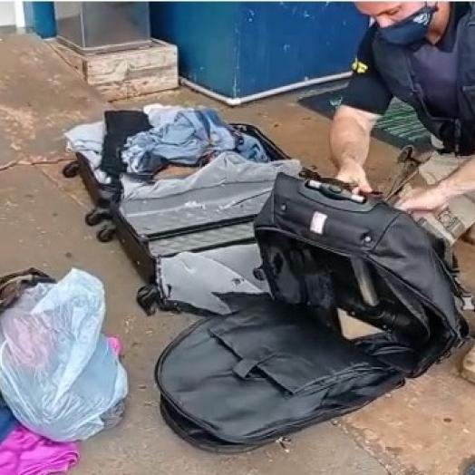 Jovem é preso pela PRF transportando haxixe