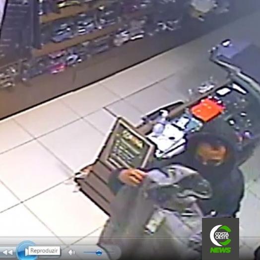 Loja é arrombada durante a madrugada no centro de Santa Helena e produtos são furtados