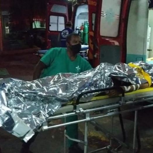 Madrugada violenta: três pessoas são baleadas em Foz